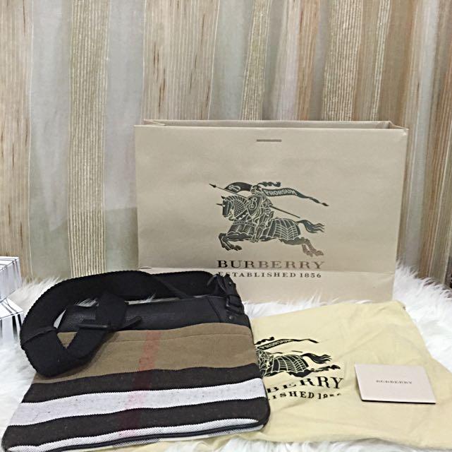 10000%🎉🎉Authentic Burberry Men s Sling Bag, Luxury on Carousell 8e4c7decfe