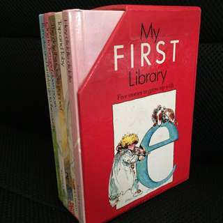 英文故事書My FIRST Library