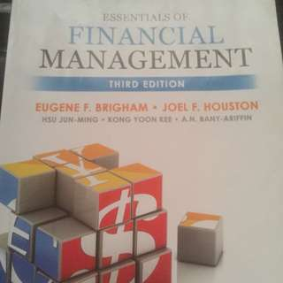 Financial Management Third Edition NTU