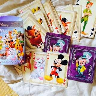 迪士尼正版撲克牌