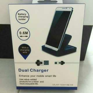 Note 4 Dual External Charging Dock / Charging Kit