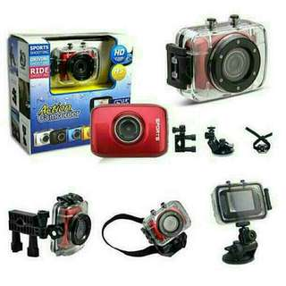 Waterproof Action Camcorder + FREE 8GB Micro SD Card