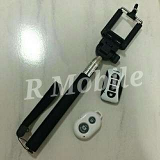 Monopod + Bluetooth Shutter / Rechargable Bluetooth Shutter