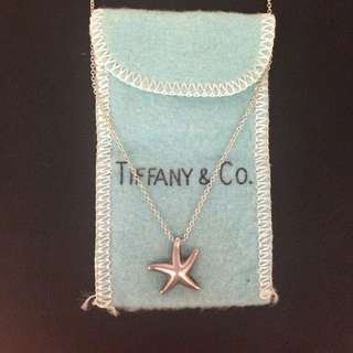 Tiffany&co Starfish 925純銀項鍊