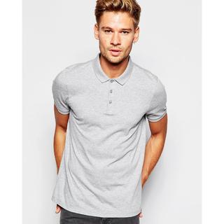 全新英國名牌正品Asos 灰色純棉Polo衫 XS號