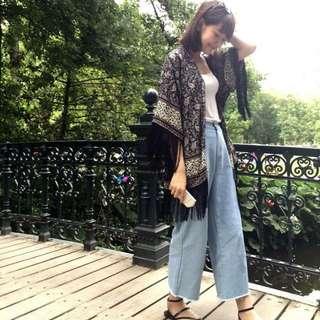 Bowwow Korea 歐美流蘇罩衫