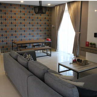 Sri Austin (near Setia Indah) 2 Storey Cluster House - FULLY FURNISHED