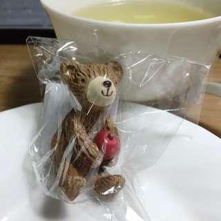 日本帶回/居家 擺飾/蘋果熊