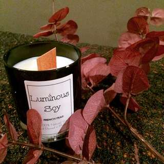 Standard Size Wood Wick Soy Candle