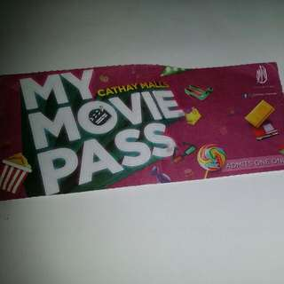 Cathay Movie Ticket