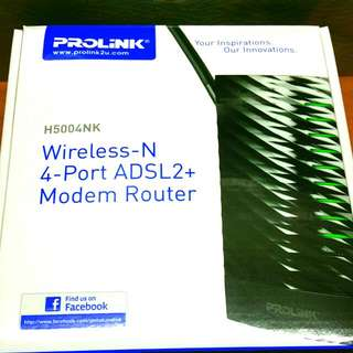 Modem Router. Haven't used Before. (Bought Wrong Router That's Why Selling)