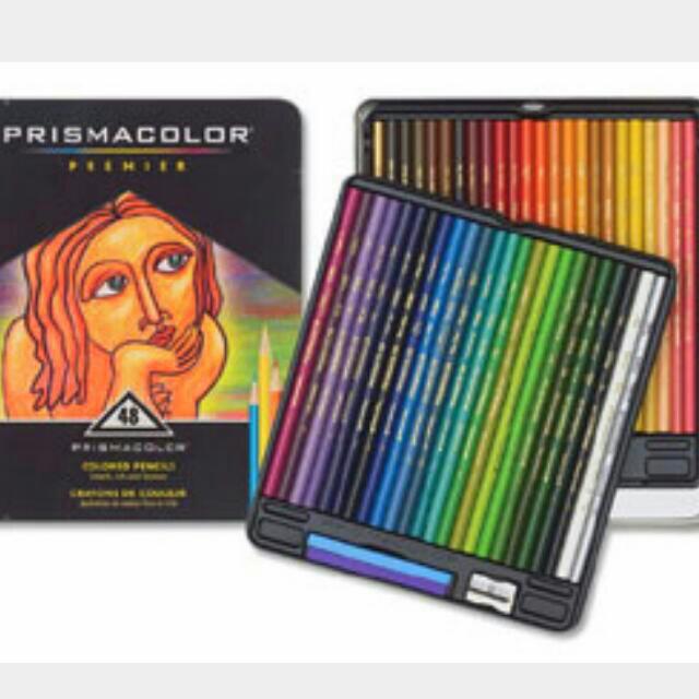 48色 油性色鉛筆 頂級