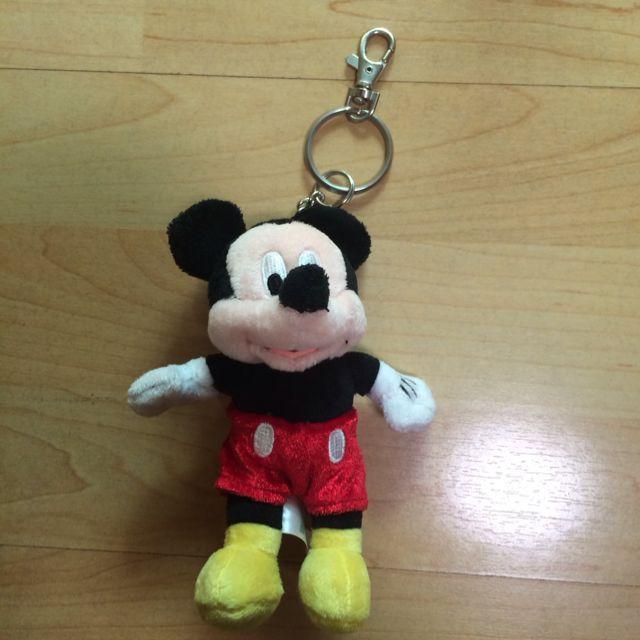 全新香港迪士尼米奇鑰匙圈