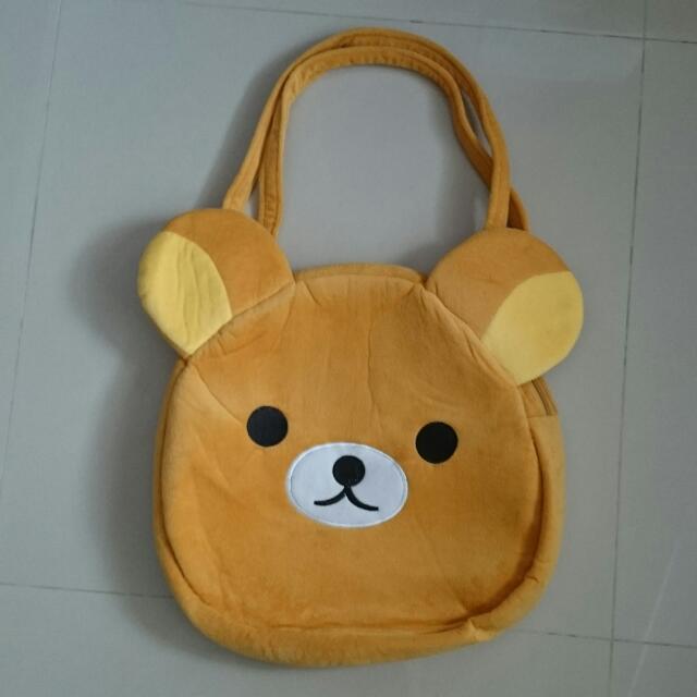 【出清】拉拉熊 側背包 側背袋
