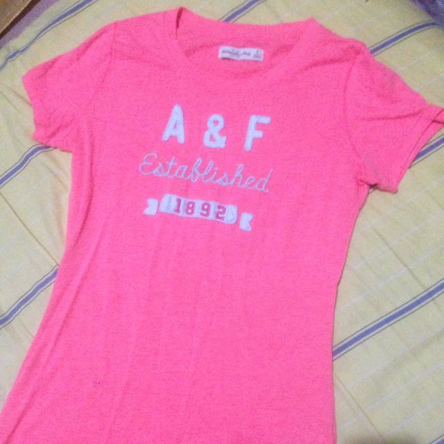 二手AF螢光粉橘 S號