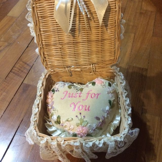 BN Lovely Lace Storage Basket