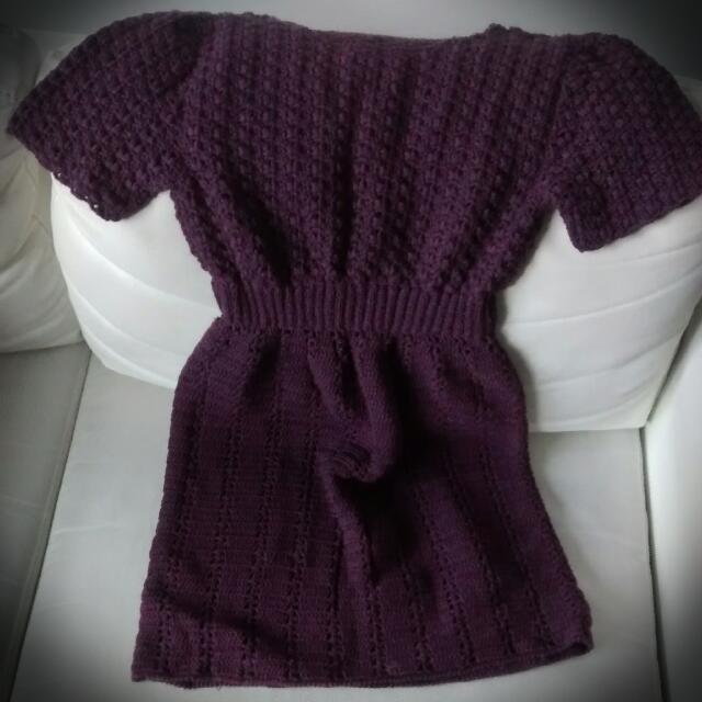 Handmade Woolen Dress