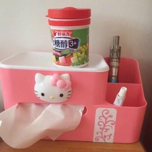 🎀Hello Kitty 凱蒂貓多功能收納盒🎀