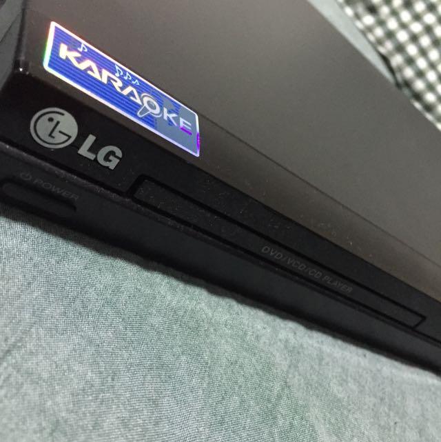 LG Karaoke Machine