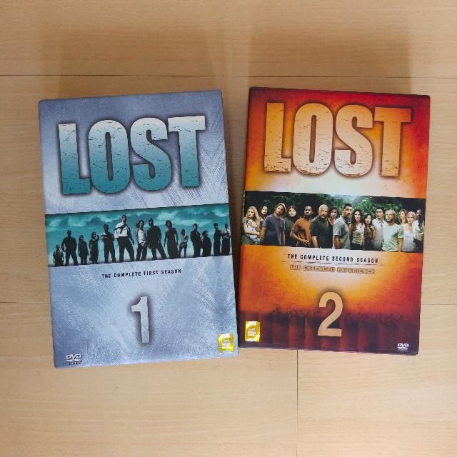 Lost (TV Series) - Complete Season 1 and Season 2 DVD sets