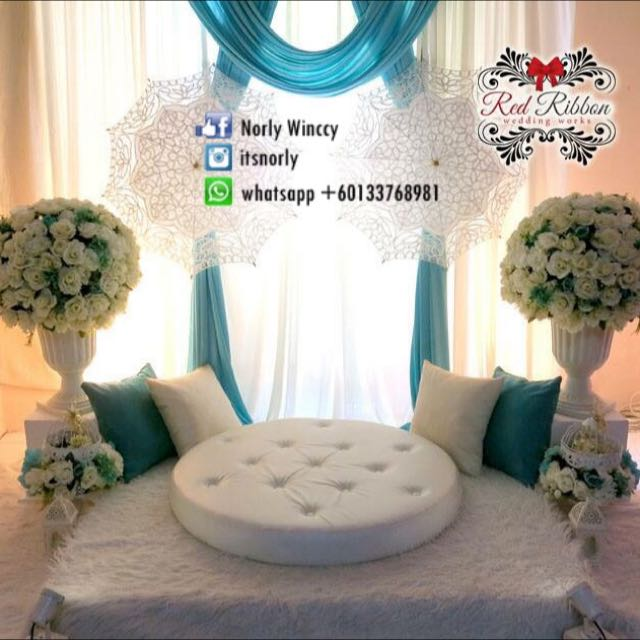 Mini Pelamin Tunang Nikah Design Craft On Carousell