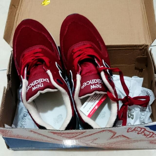 NB鞋 紅色
