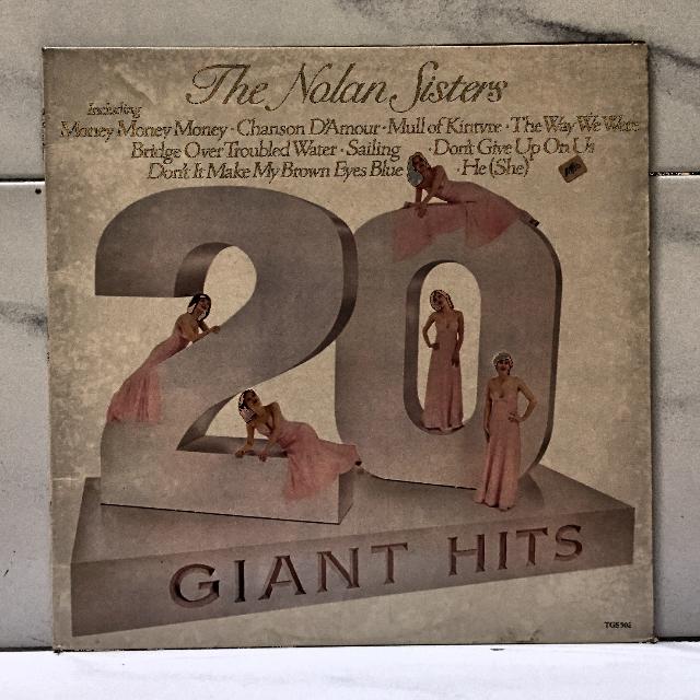 Nolan Sisters, The* – 20 Giant Hits LP Vinyl