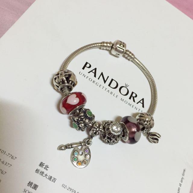 Pandora蛇鍊17cm