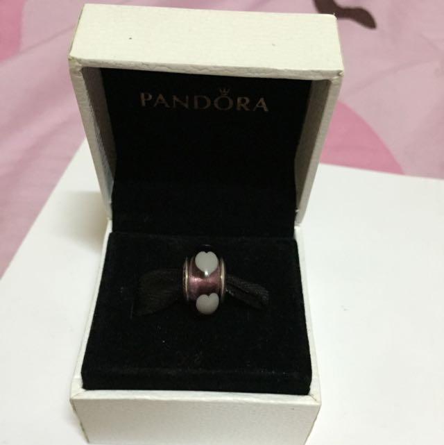 Pandora紫色愛心琉璃