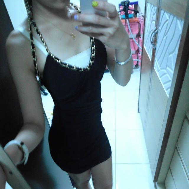黑色鏈條Party服