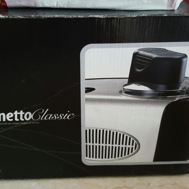 Venetto Classic Ice Cream Machine