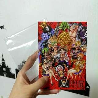 海賊王,航海王,One Piece便條本