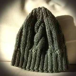 Handmade Grey Woolen Hat