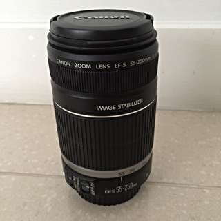 Canon Lens EFS 55-250mm F4-5.6 IS