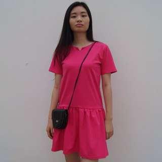 Pink Drop Dress