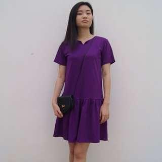 Purple Drop Dress