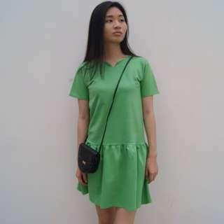 Green Drop Dress