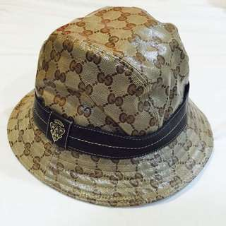 GUCCI 經典漁夫帽(防水材質)