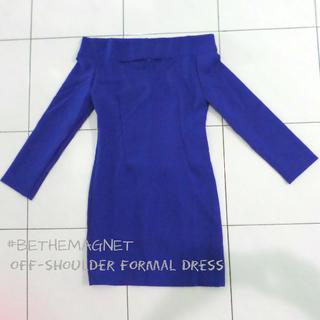 Formal Off-Shoulder Dress