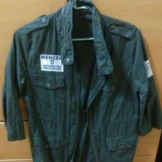 軍事風大衣