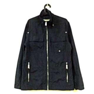 Esprit 硬挺 軍裝黑外套 夾克#交易最划算