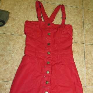 AUTHENTIC MNG RED DRESS