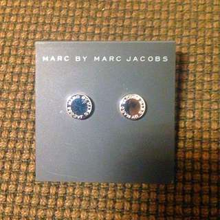 🚚 Marc By Marc Jacobs 時尚圓型銀色耳環