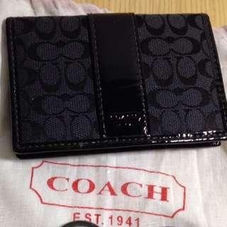 Coach名片夾/票夾