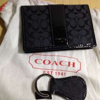 Coach 鑰匙圈(全新)