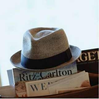 [全新] 男女通用麻料帽