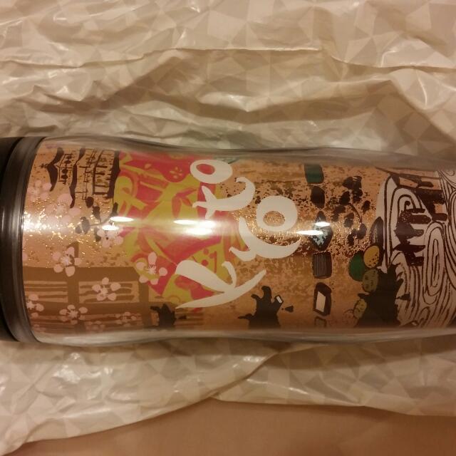 【全新/含運】星巴克2013京都隨行杯,包裝仍在,售1,050超取含運。