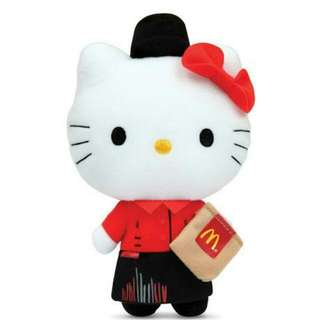 Mcdonald SG50 Limited Edition Crew Hello Kitty