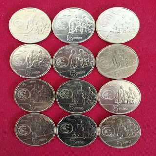 12 Pcs for $10_Philippines Comm Coins