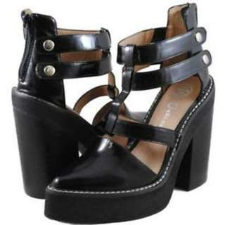Size 7 Jeffery Campbell - Freca Platform In Black